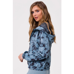 Onzie Breakaway Jacket Moonstone Acid Wash