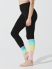Sunset Legging Onyx/Multi Beam Wash