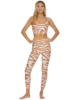Beach Riot Piper Legging Cloud Cream Zebra