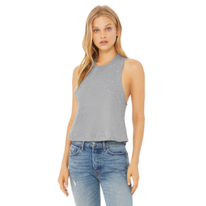 Bella & Canvas Crop Tank Heather