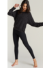 Strut This Kendall Ankle Tex Black Rib O/S