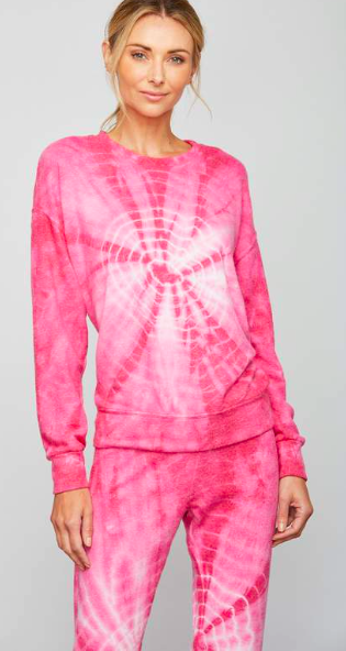 Sundays Delano Top Shocking Pink Wash