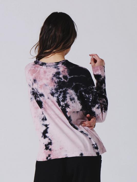 Electric & Rose Stella Slit Top Blush/Onyx