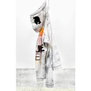 Free City SUPERBLEACHOUT LNLSUN pullover hoodie - whitestorm