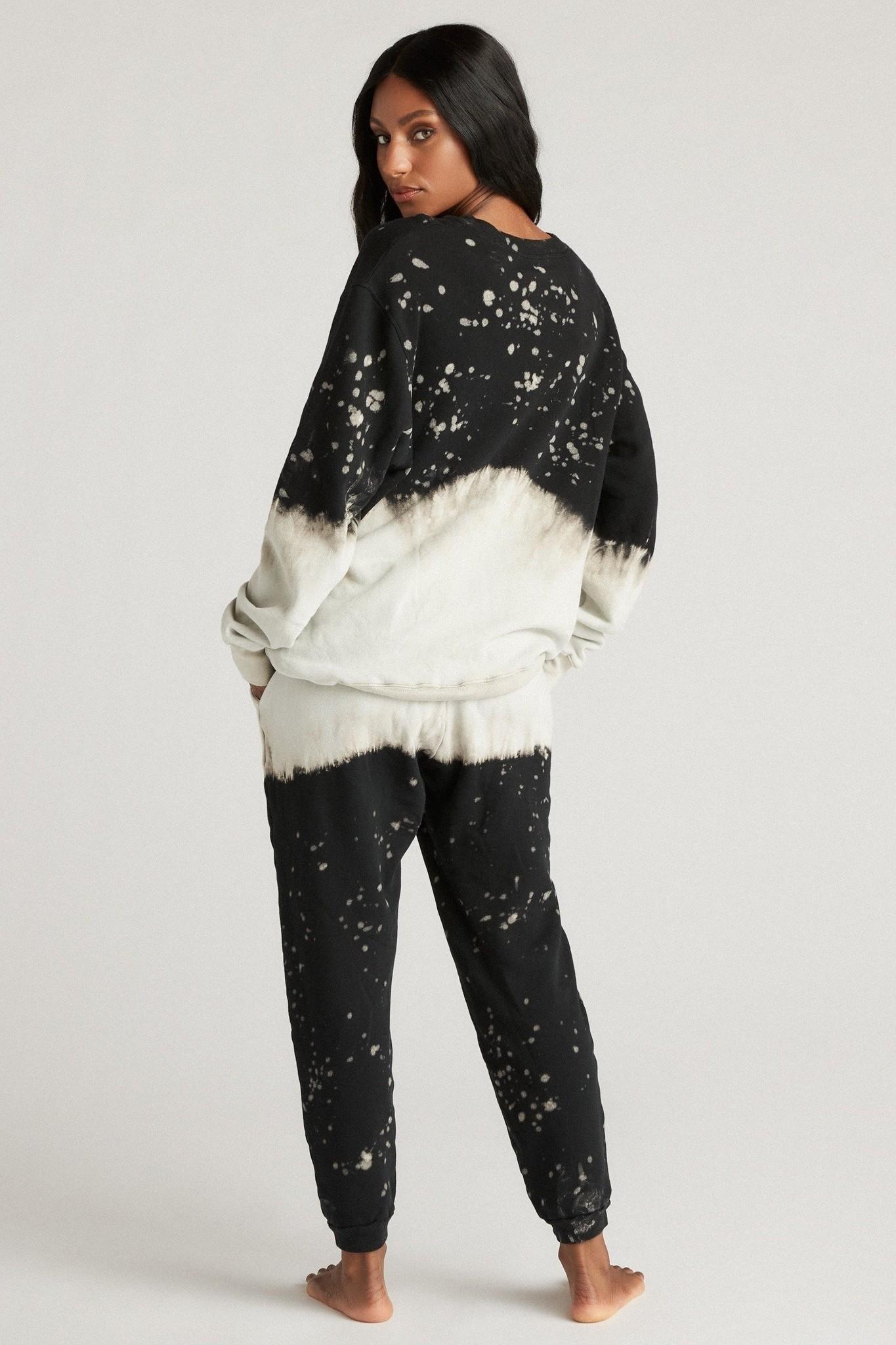 Strut This Mason Sweatshirt Midnight Splatter