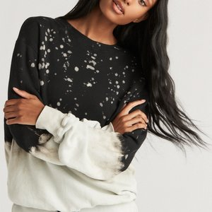 Strut This Mason Sweatshirt Midnight Splatter
