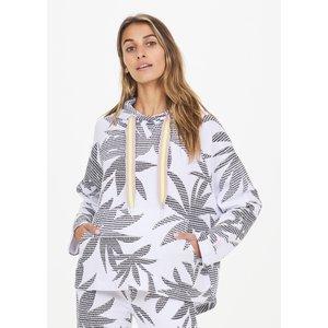 The Upside Lennox Hoodie White Palm