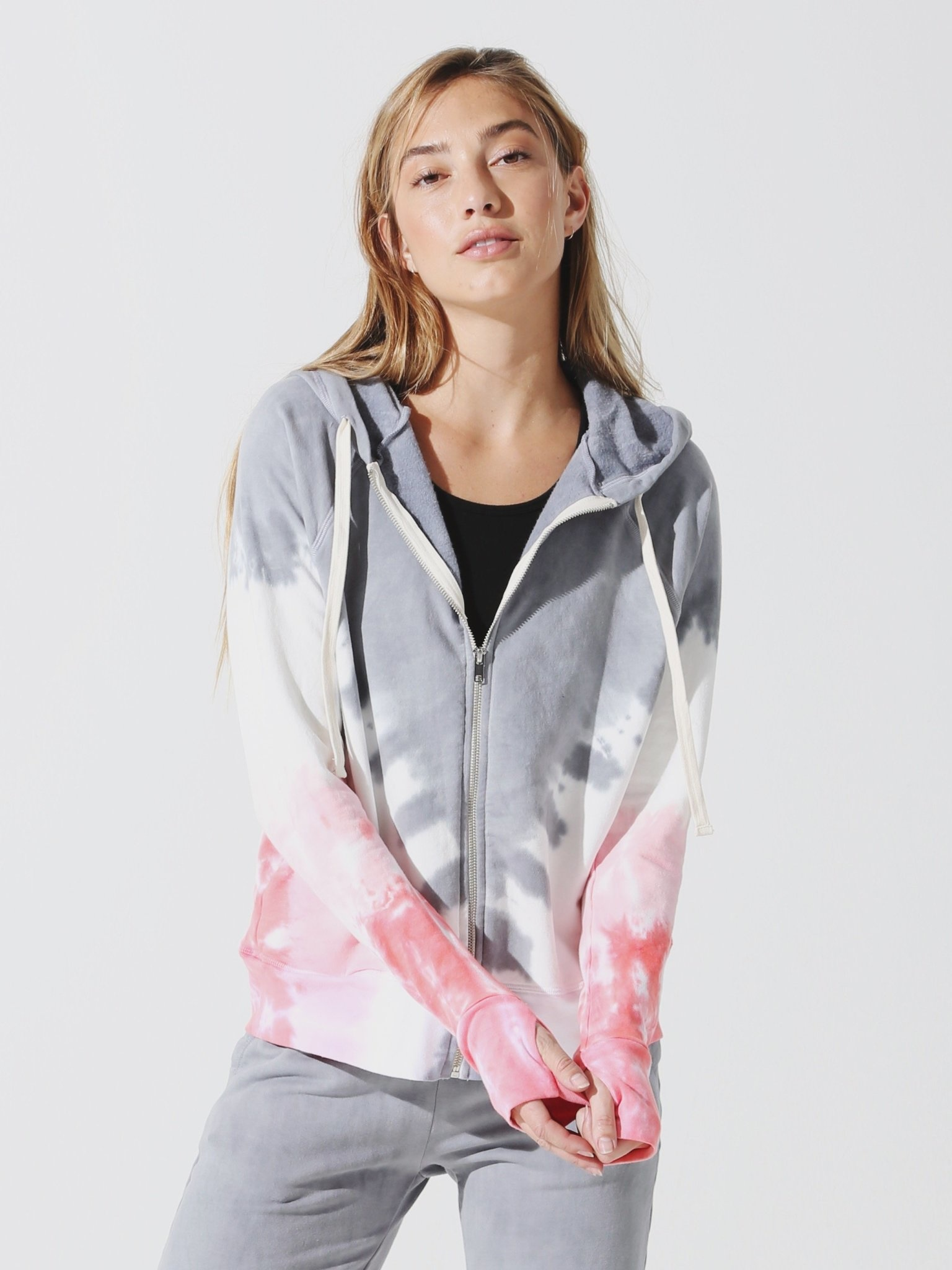 Electric & Rose Highland Hoodie Momentum Thunder/Cloud/Camille