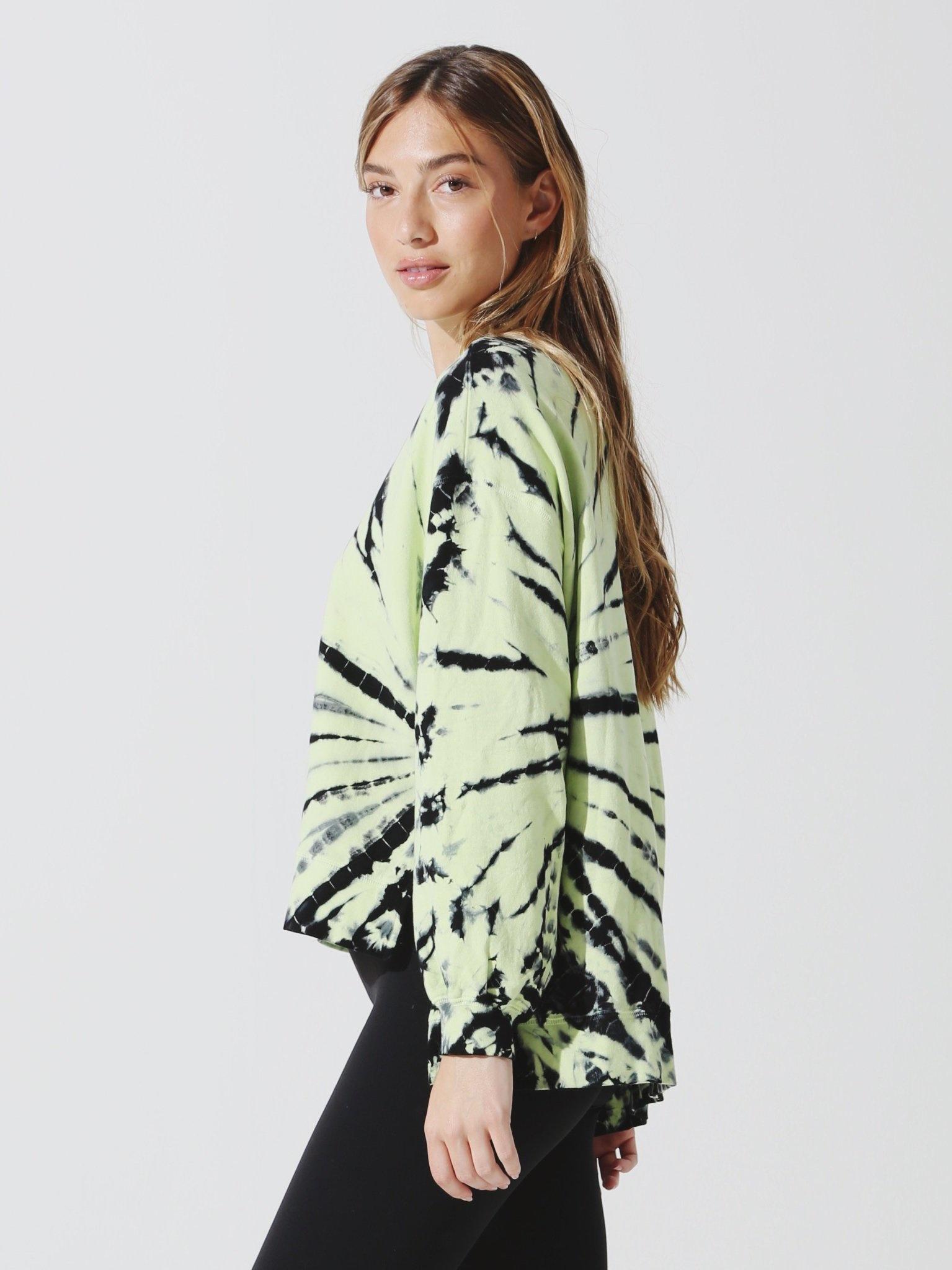 Neil Sweatshirt Ambient Onyx/Neon