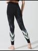 Sunset Legging Chevron Onyx/Neon