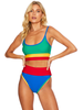Beach Riot Eva Top Primary Colorblocked