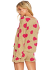 Beach Riot Beach Sweater Famous Taupe Heart