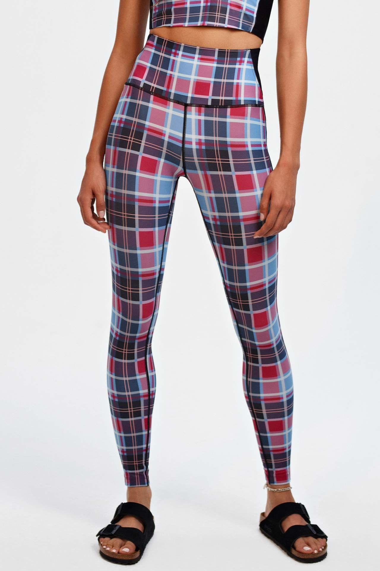 Splits59 Agathe HW 7/8 Jacinthe Plaid
