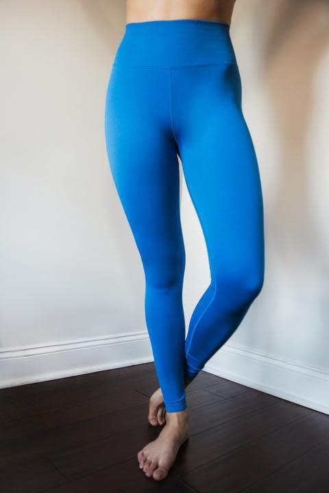 Spiritual Gangster Love Sculpt Legging Blue Paradise