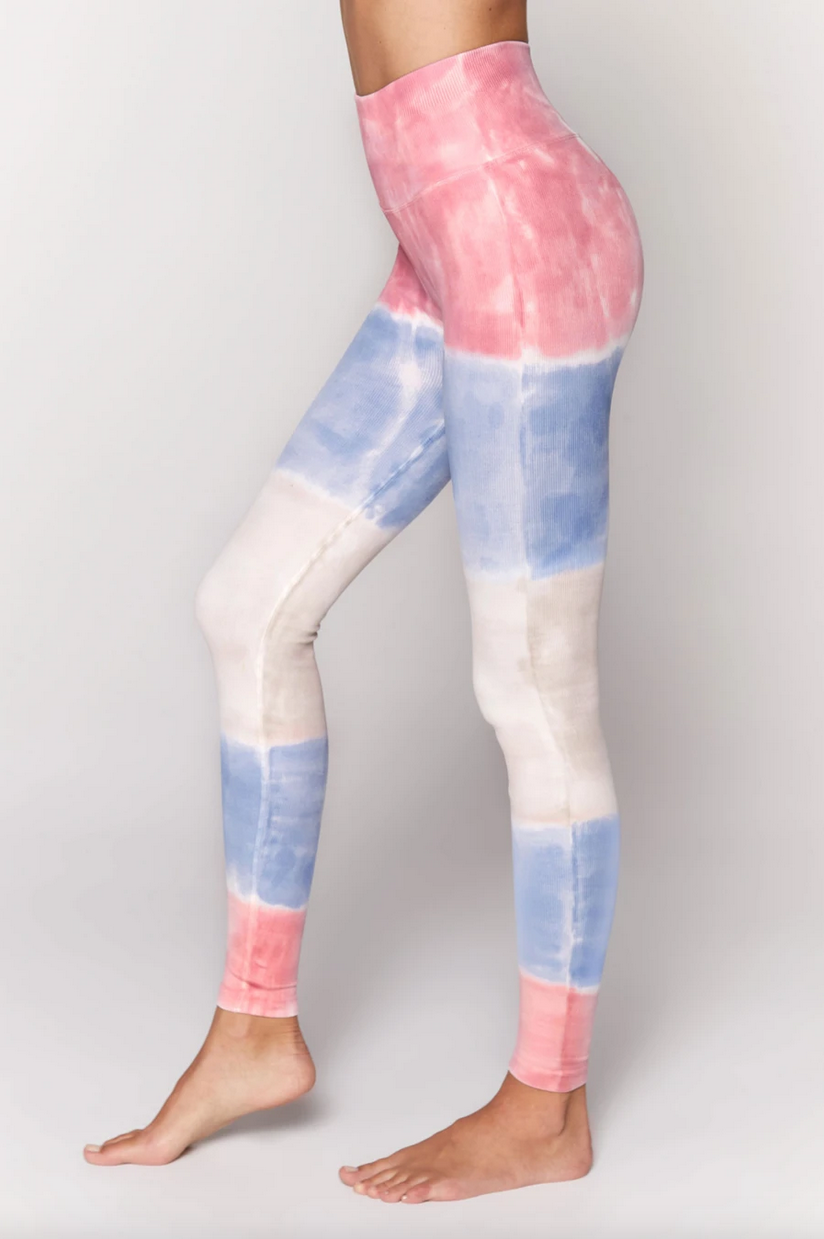 Spiritual Gangster Love Sculpt Legging Seashell Tie Dye