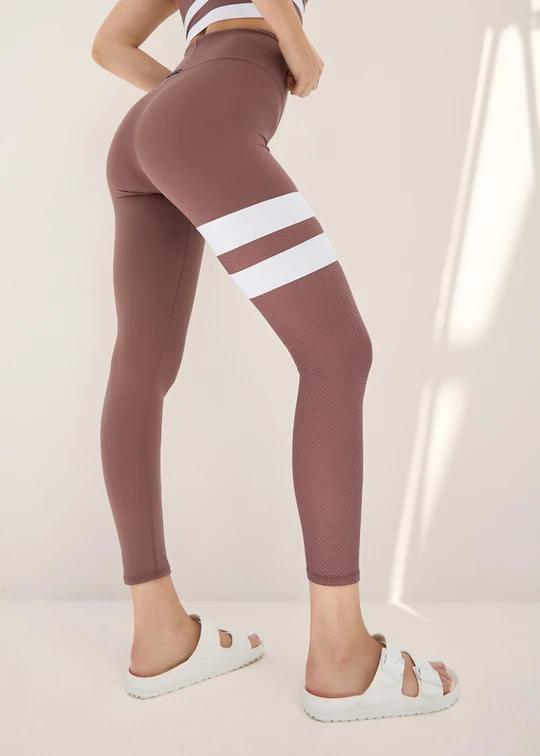 Body Language Bella Legging - Desert Rose