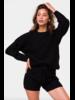 Onzie Cozy Knit Sweater Black