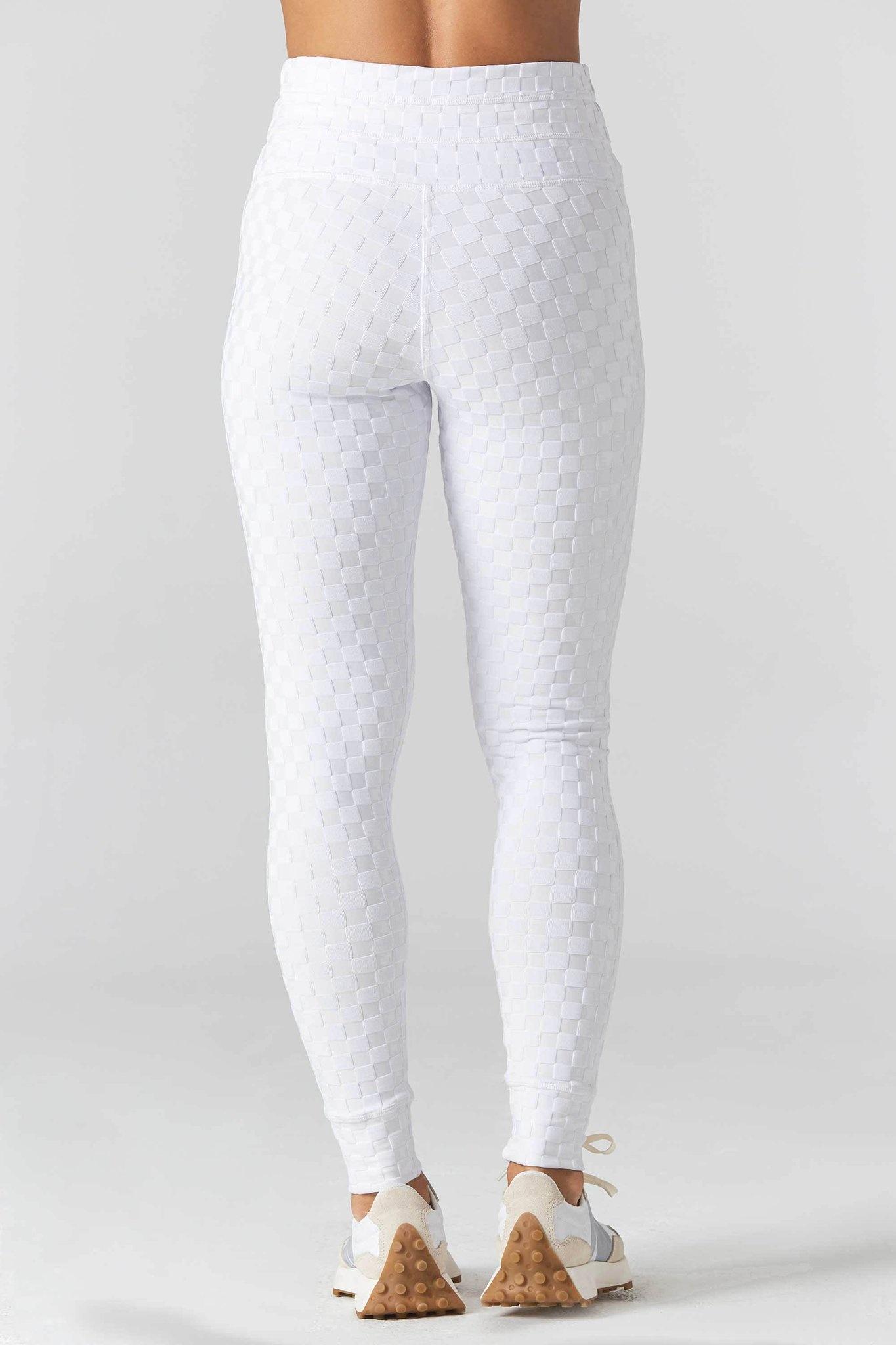9.2.5 Welcome Ohm Jacquard White Legging