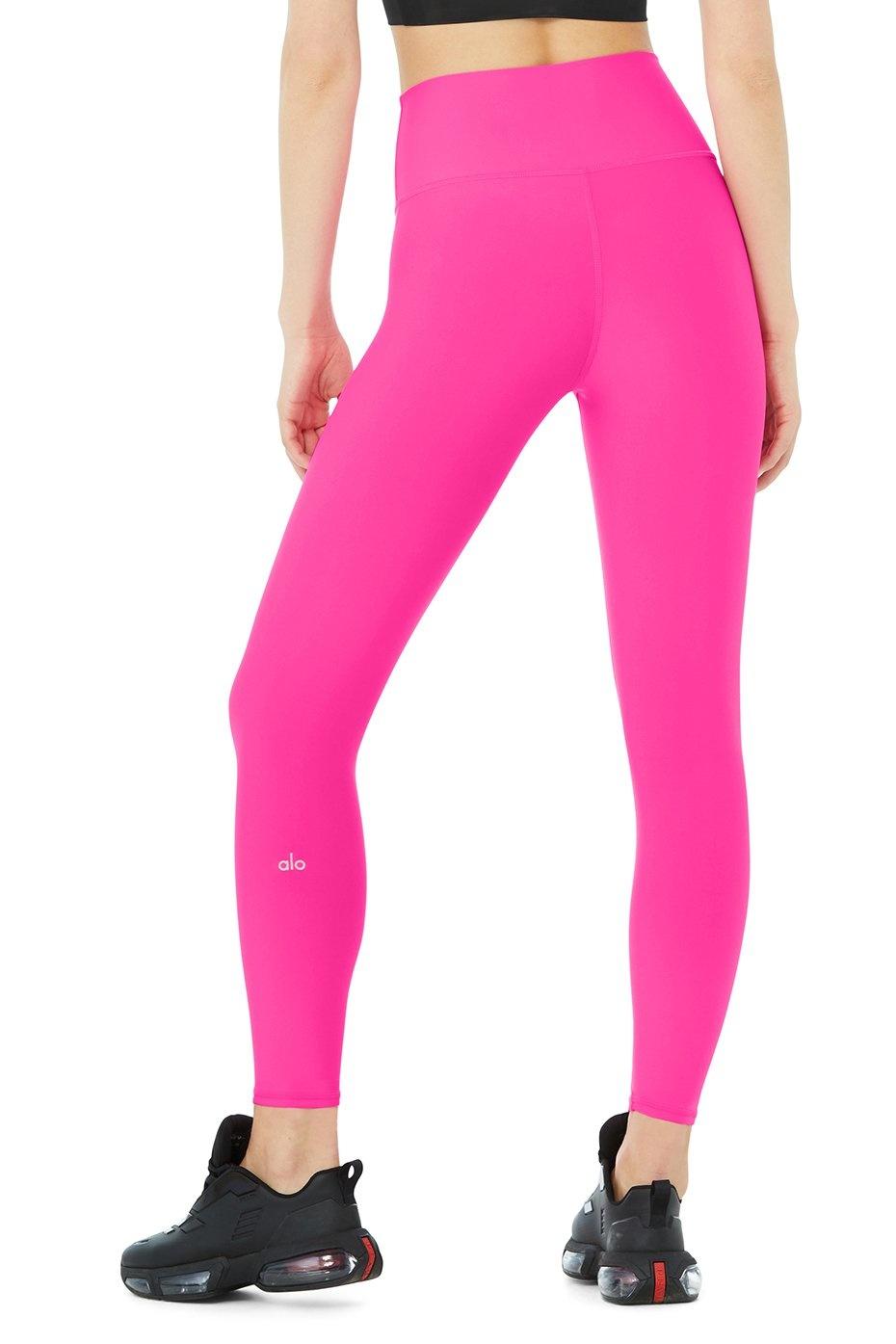 ALO 7/8 HW Airlift Legging Neon Pink