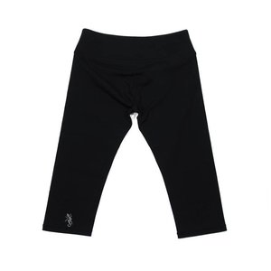 Poppy Black Capri