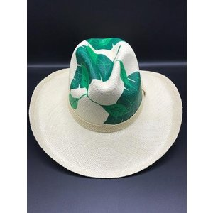 Green Leaves Hat