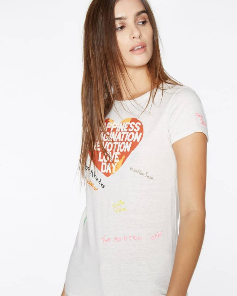 Pam and Gela Happiness Imagination Love Tee