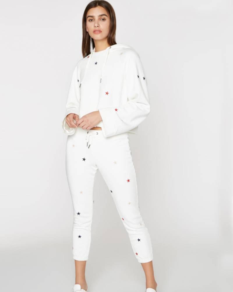 Pam and Gela Basic Sweatpant w/ Emb Star