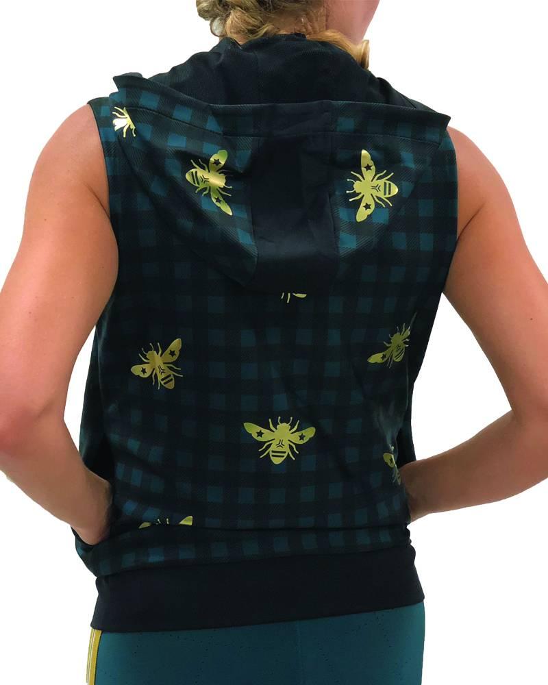 Ultracor Flux Hunter Vest Teal Gold