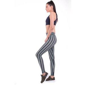 9.2.5 The Right Track - Navy Stripes Legging