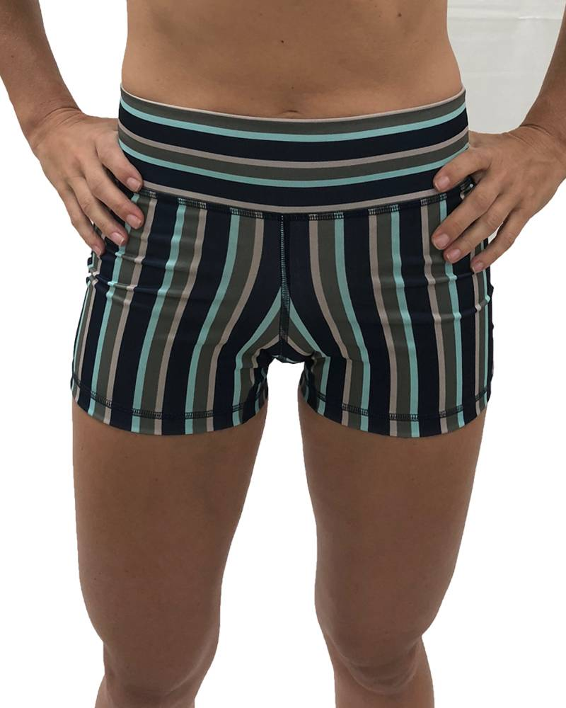 9.2.5 Worst Behavior - Navy Stripes Shorts