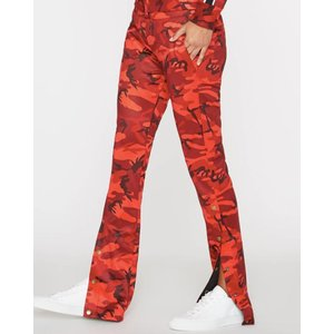 Pam and Gela Snap Leg Track Pant Red Camo