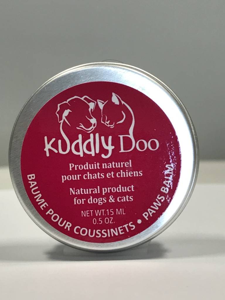 Kuddly Doo Baume pour pattes et museau - 15ml