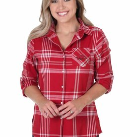 University Girls Women's Boyfriend Plaid