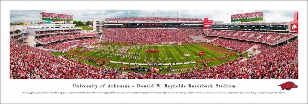 Blakeway Panorama 2018 Arkansas Razorback Football Stadium Panorama