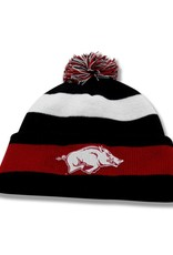 The Game Arkansas Razorback Roll Up Knit Beanie