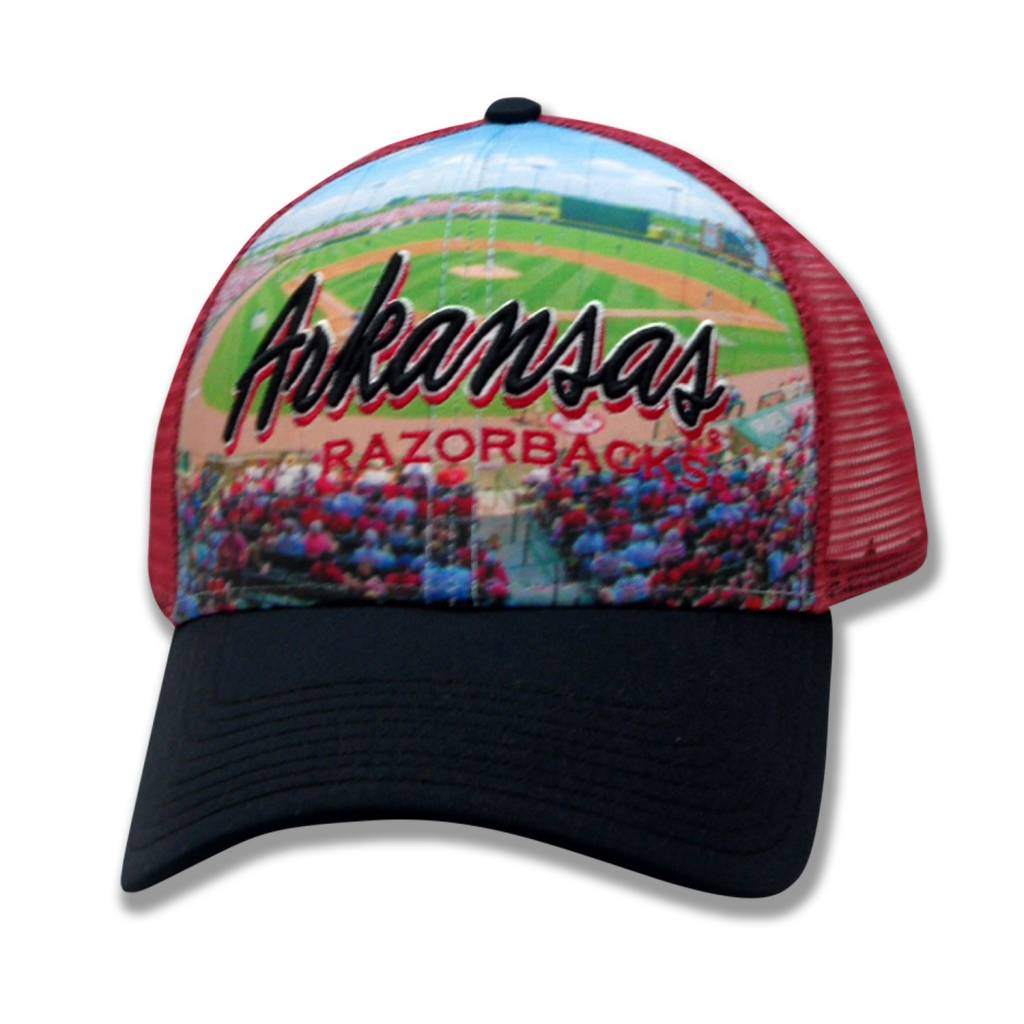 The Game Arkansas Razorback Baum Stadium Hat