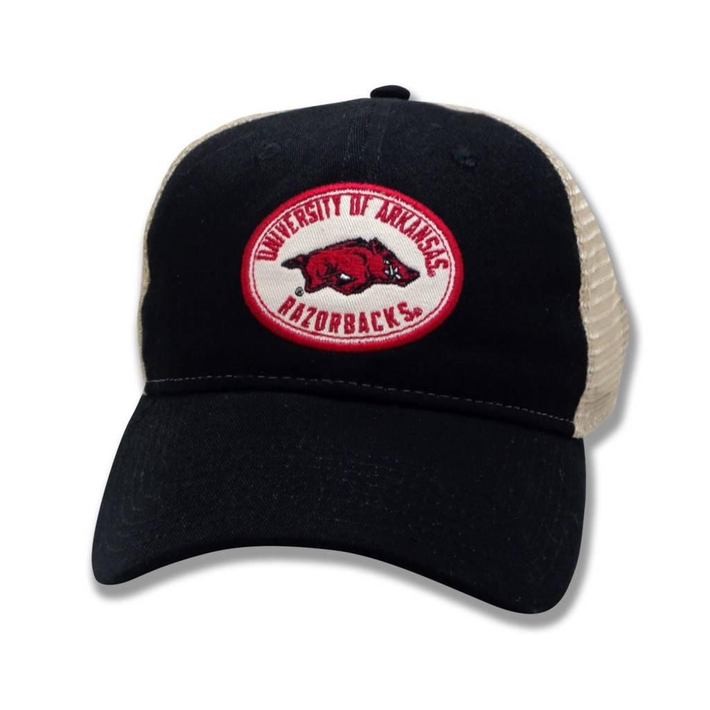 The Game Arkansas Razorback Super Soft Mesh Trucker Hat
