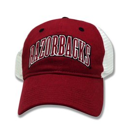 The Game Razorback Cardinal Super Soft Mesh Hat