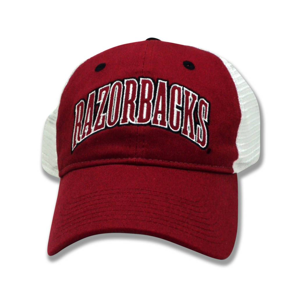 The Game Arkansas Razorback Cardinal Super Soft Mesh Hat