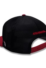 The Game Arkansas Razorback Flat Bill Baseball GameChanger Diamond Mesh Hat By The Game