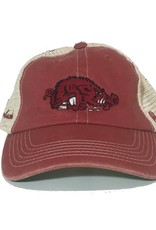 Top Of The World Cardinal & Stone Mesh Slobbering Hog Hat