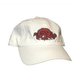 Top Of The World White Slobbering Hog Hat