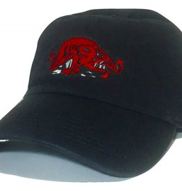 Top Of The World Black Slobbering Hog Hat