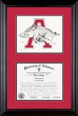 SAKE Razorback Standard Diploma Frame