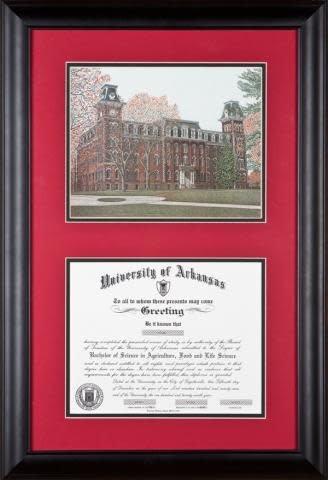 SAKE Old Main Standard Diploma Frame