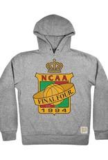 Retro Brands 1994 Charlotte Logo Hood Sweatshirt With Hog On sleeve