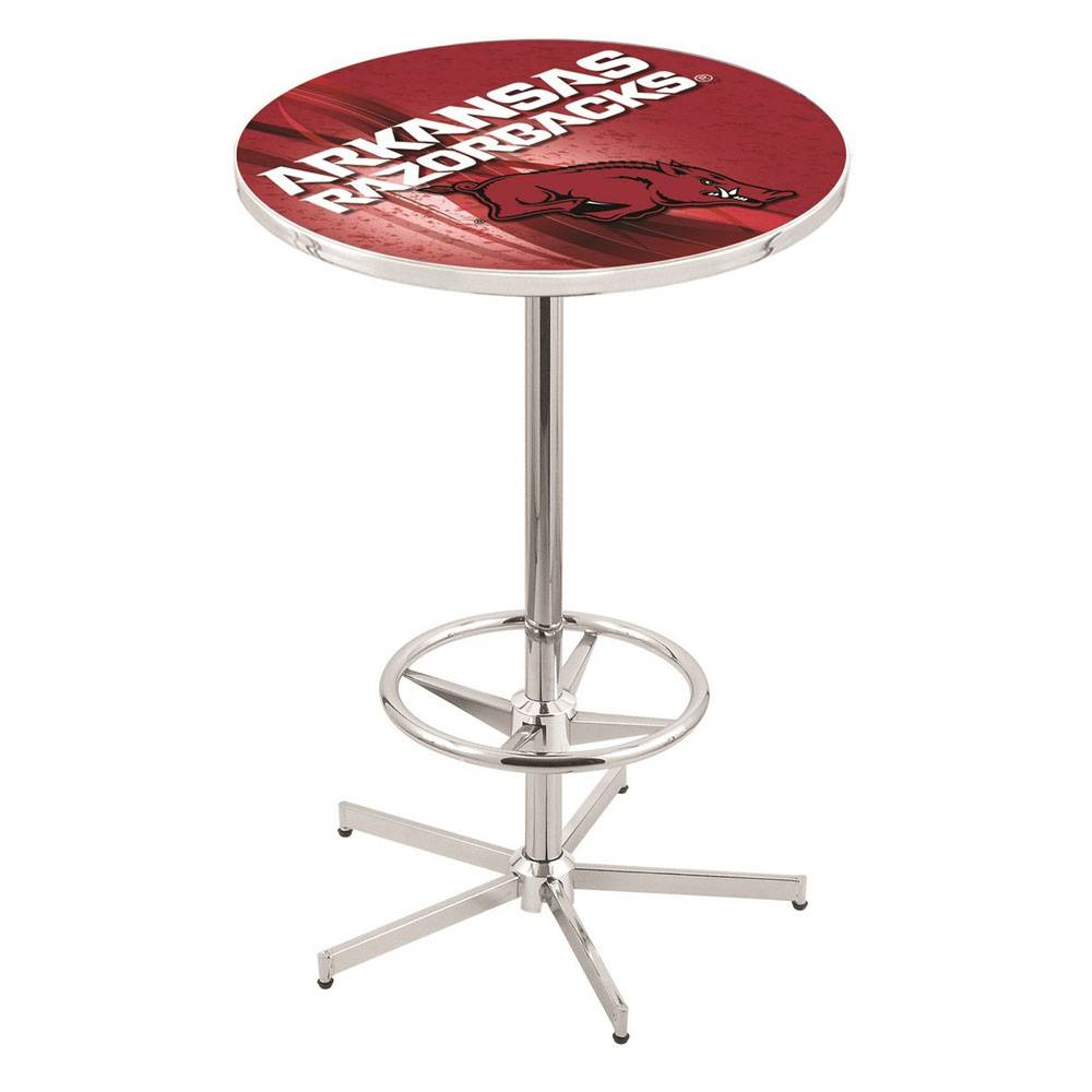 Holland Bar Stool Razorback Bar / Pub Table With Foot Ring L216