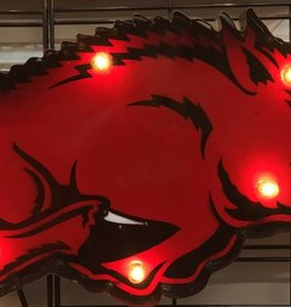 Razorback Lighted Wall Art