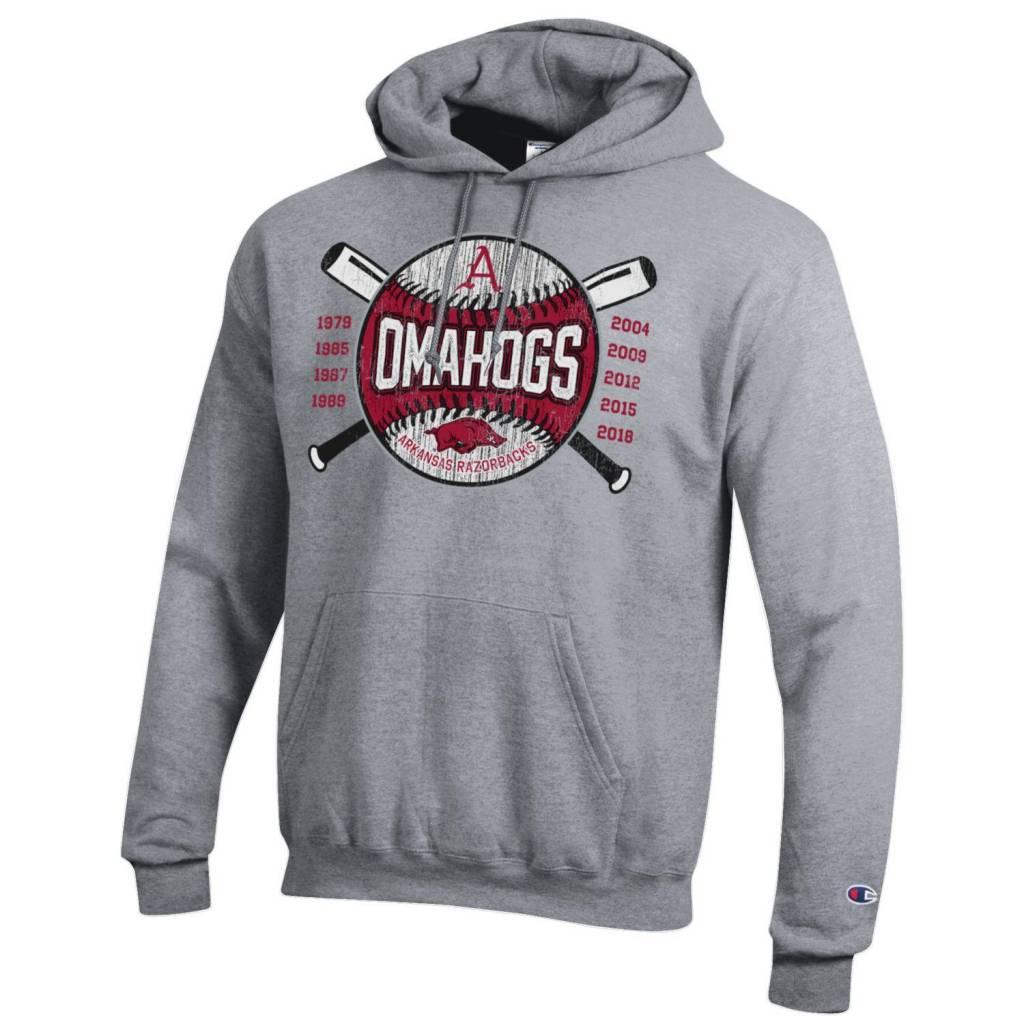 Champion OMAHOGS Cross bats Powerblend Hood