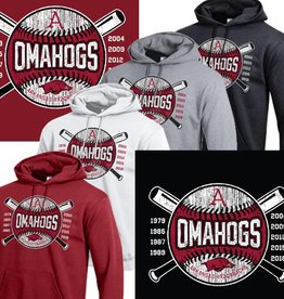 Champion OMAHOGS Cross bats Powerblend Hood